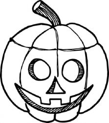 plansa de colorat hallowen de colorat p34