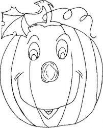 plansa de colorat hallowen de colorat p43