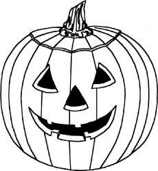 plansa de colorat hallowen de colorat p82