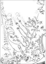 plansa de colorat horton de colorat p26
