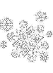 plansa de colorat iarna de colorat p87