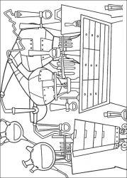 plansa de colorat igor de colorat p12