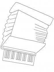 plansa de colorat instrumente muzicale de colorat p17