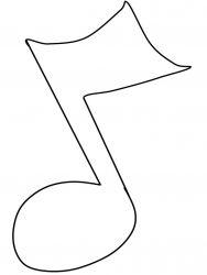 plansa de colorat instrumente muzicale de colorat p42