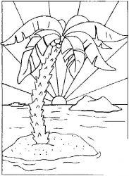 plansa de colorat insule de colorat p04