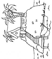 plansa de colorat insule de colorat p07
