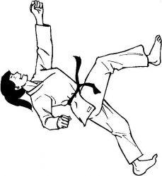 plansa de colorat judo de colorat p19