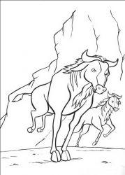 plansa de colorat lion king de colorat p19