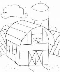 plansa de colorat locuinte de colorat p15