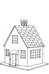 plansa de colorat locuinte de colorat p25