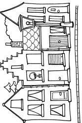 plansa de colorat locuinte de colorat p26