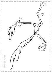 plansa de colorat looney tunes de colorat p39