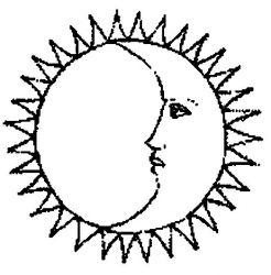 plansa de colorat luna de colorat p04