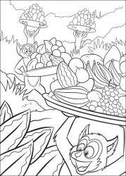 plansa de colorat madagascar de colorat p29