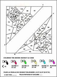 plansa de colorat matematica distractiva de colorat p05