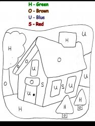 plansa de colorat matematica distractiva de colorat p16
