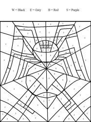 plansa de colorat matematica distractiva de colorat p21