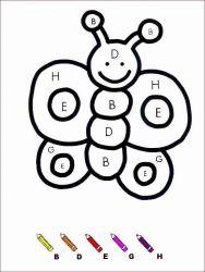 plansa de colorat matematica distractiva de colorat p48