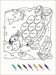 plansa de colorat matematica distractiva de colorat p54