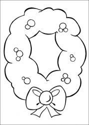 plansa de colorat mos craciun de colorat p43
