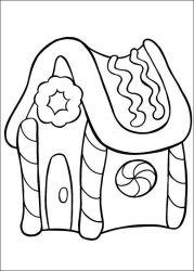 plansa de colorat mos craciun de colorat p57