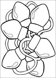 plansa de colorat mos craciun de colorat p67
