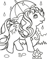 plansa de colorat my little poney de colorat p02