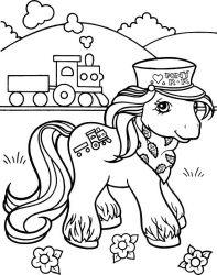 plansa de colorat my little poney de colorat p05