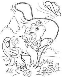 plansa de colorat my little poney de colorat p06