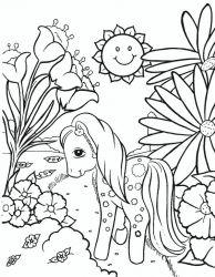 plansa de colorat my little poney de colorat p07