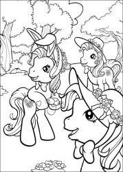plansa de colorat my little poney de colorat p10