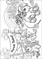 plansa de colorat my little poney de colorat p17