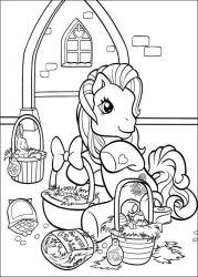 plansa de colorat my little poney de colorat p19