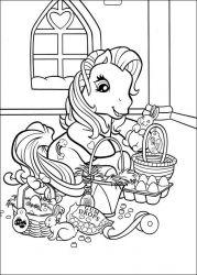 plansa de colorat my little poney de colorat p24