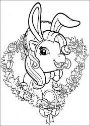 plansa de colorat my little poney de colorat p29