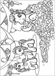 plansa de colorat my little poney de colorat p31