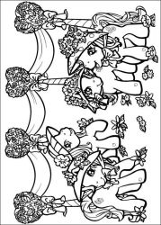 plansa de colorat my little poney de colorat p32