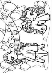 plansa de colorat my little poney de colorat p35