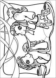 plansa de colorat my little poney de colorat p36