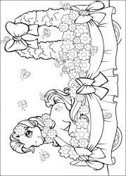 plansa de colorat my little poney de colorat p44