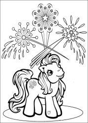 plansa de colorat my little poney de colorat p53