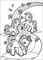 plansa de colorat my little poney de colorat p55