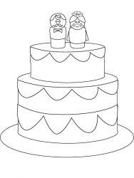 plansa de colorat nunta de colorat p28