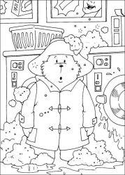 plansa de colorat paddington bear de colorat p07
