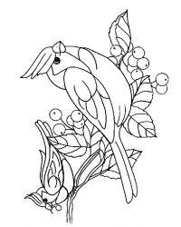 plansa de colorat pasari de colorat p69