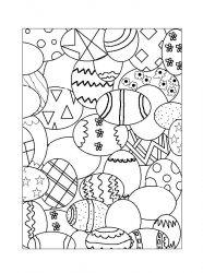 plansa de colorat paste de colorat p106