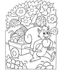 plansa de colorat paste de colorat p176