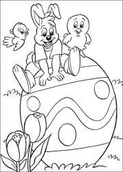 plansa de colorat paste de colorat p207