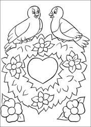 plansa de colorat paste de colorat p228