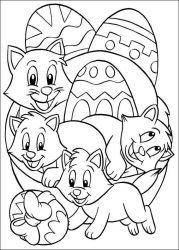 plansa de colorat paste de colorat p248